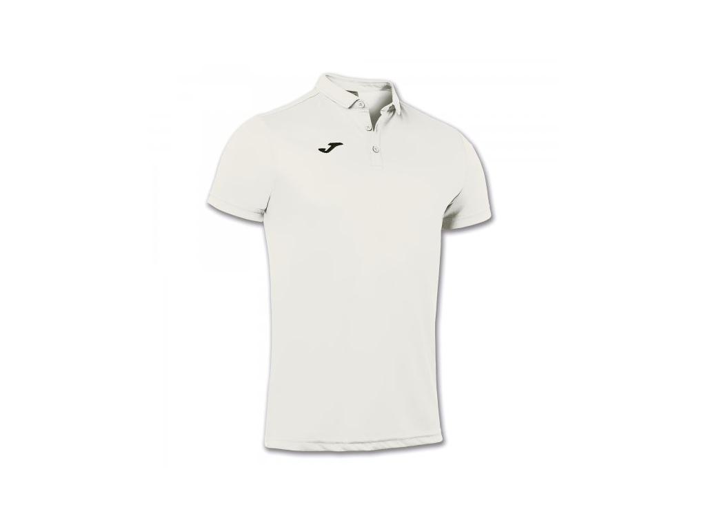 Polo tričko pánské bílé JOMA Hobby
