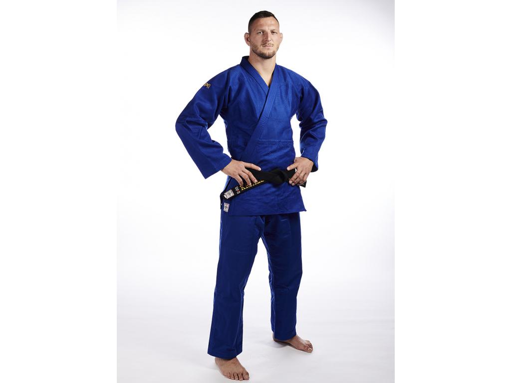 judo kimono slimfit modre ippon gear olympic ijf