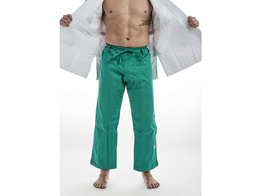 Kimono judo Ippon Gear Fighter - kalhoty zelené