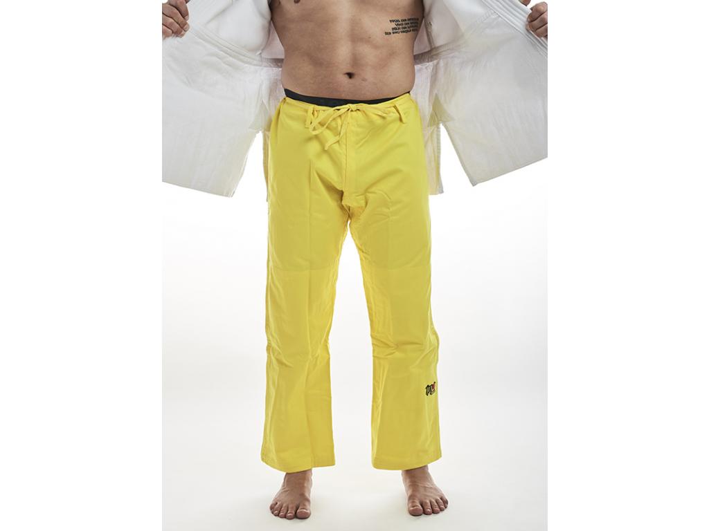 Kimono judo Ippon Gear Fighter - kalhoty žluté