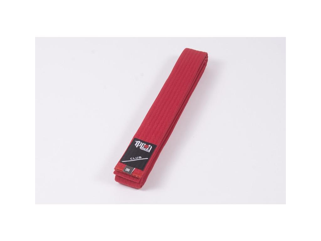 Pásek ke kimonu červený Ippon Gear Club