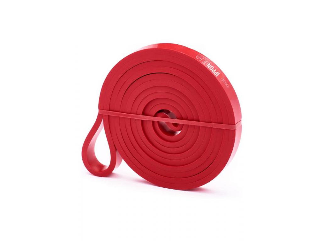 posilovaci guma ippon gear ultra light cervena