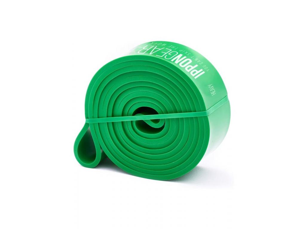 posilovaci guma ippon gear heavy zelena