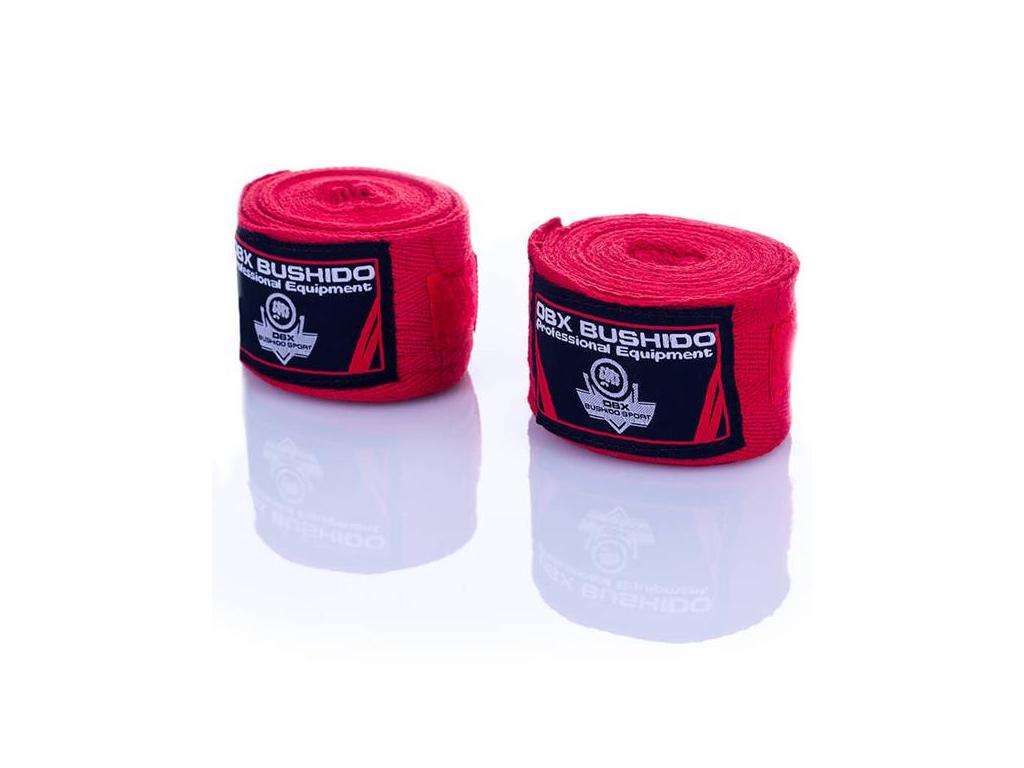 boxerska bandaz bushido cervena