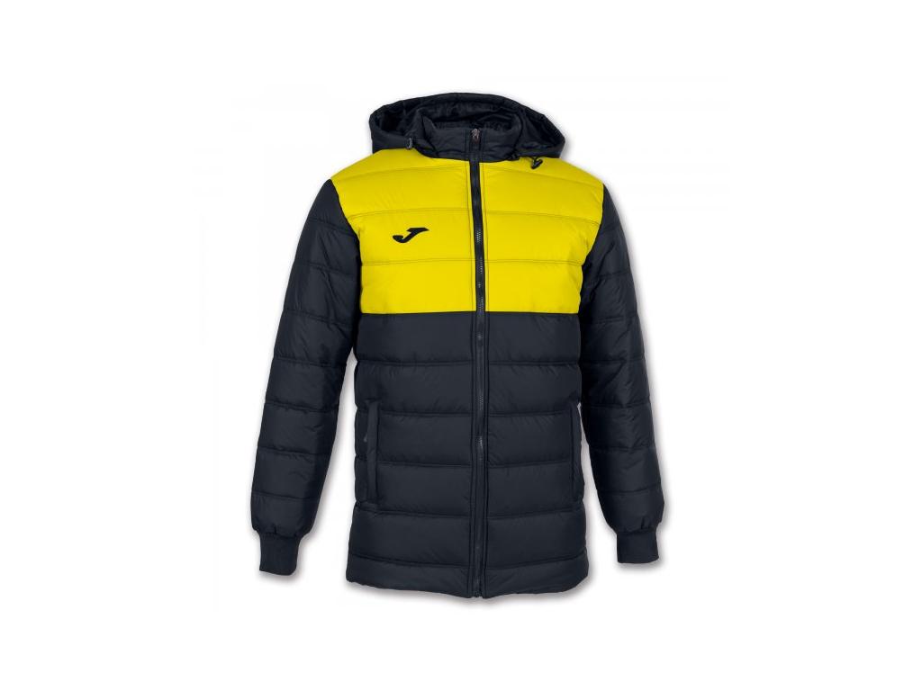 Zimní bunda černo-žlutá Joma Urban II