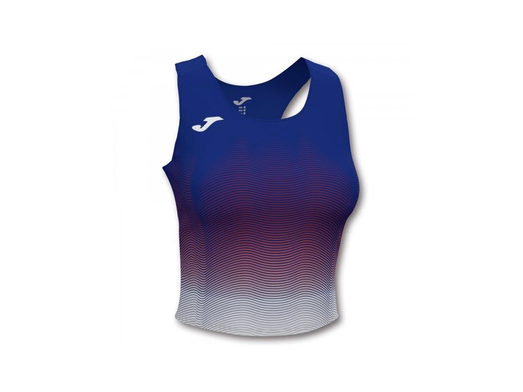 Dámský atletický top modro-bílý JOMA Elite VII