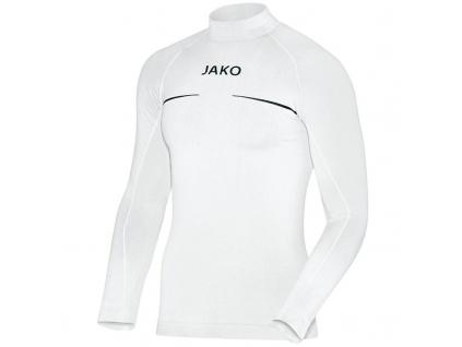 JAKO Turtleneck Comfort funkční triko bílé