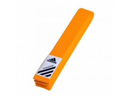 Adidas Club oranžový pásek ke kimonu