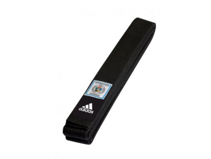 Adidas IJF Elite černý pásek ke kimonu