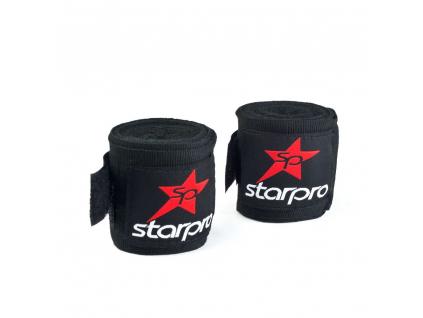 StarPro boxerská bandáž černá