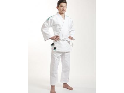 kimono judo detske ippon gear future green