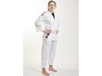 kimono judo detske ippon gear future pink