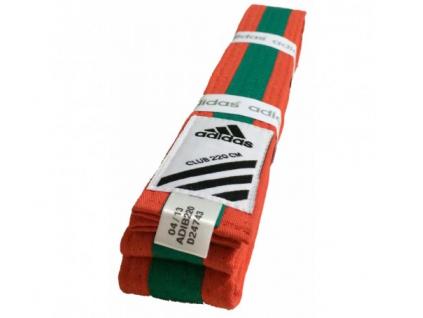club belt orange green