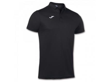 Polo tričko pánské černé JOMA Hobby
