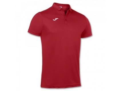Polo tričko pánské červené JOMA Hobby
