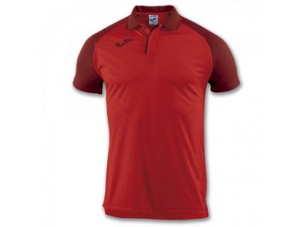 Polo tričko pánské červené JOMA Torneo II