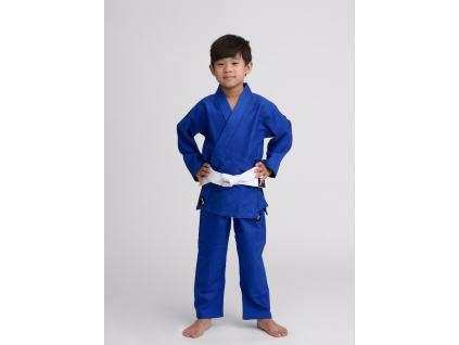 kimono judo detske ippon gear future modre
