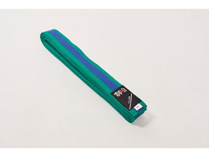 pasek ke kimonu ippon gear club zeleno modry