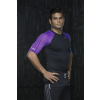 Adidas IBJJF Rashguard černo-fialový