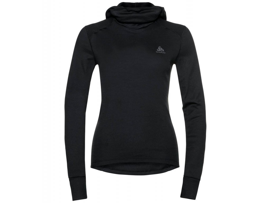 BL TOP with Facemask l/s ACTIVE WARM ECO  black