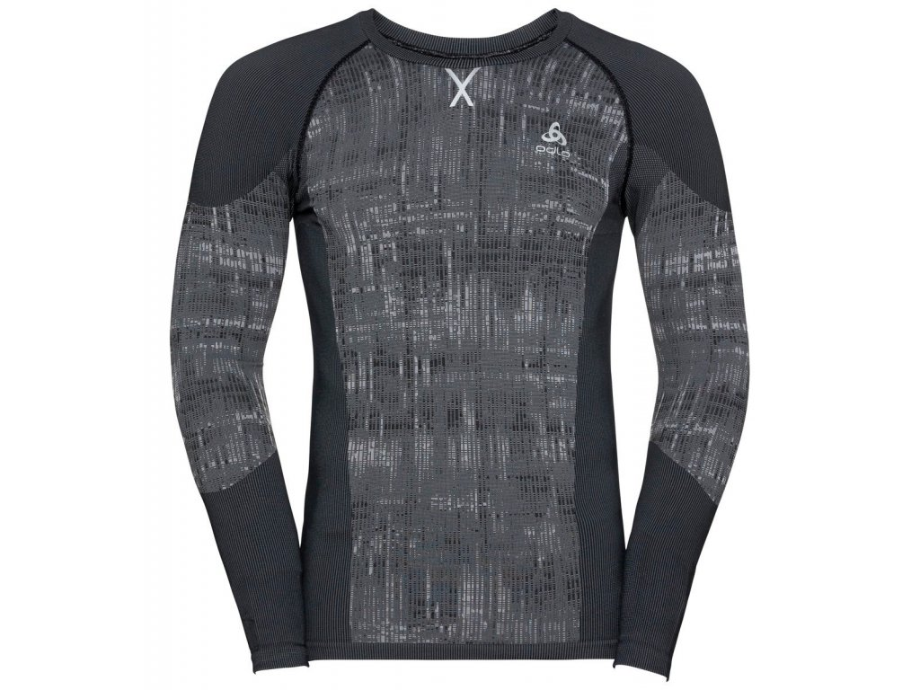BL TOP Crew neck l/s BLACKCOMB  black