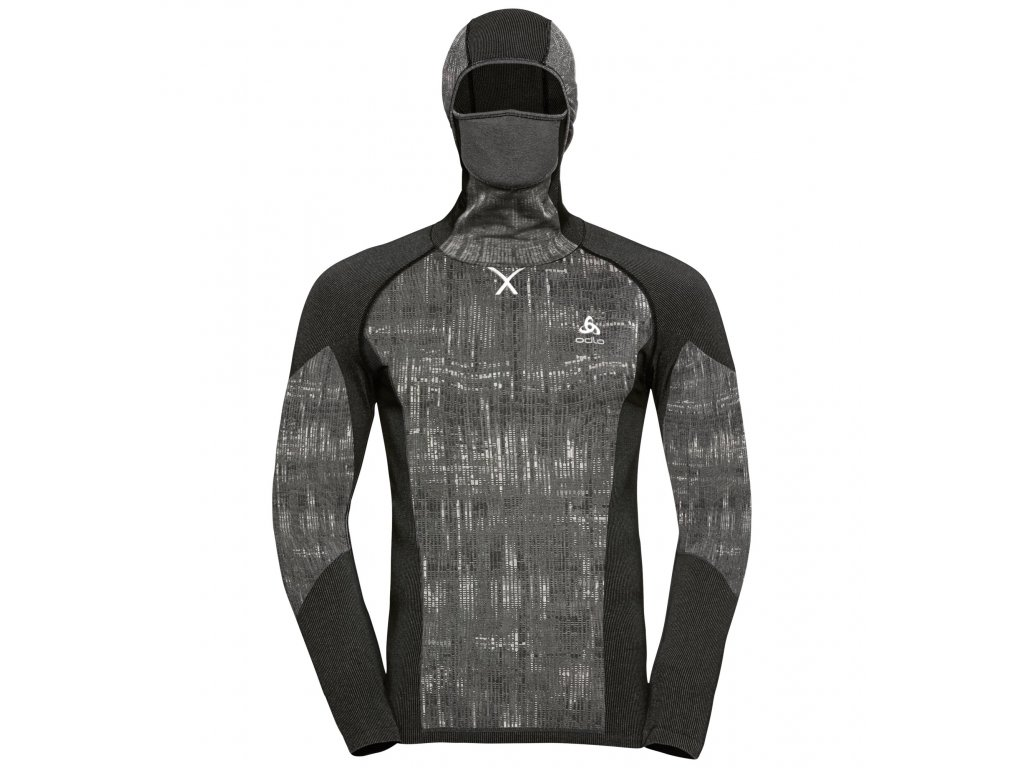 BL TOP with Facemask l/s BLACKCOMB  black