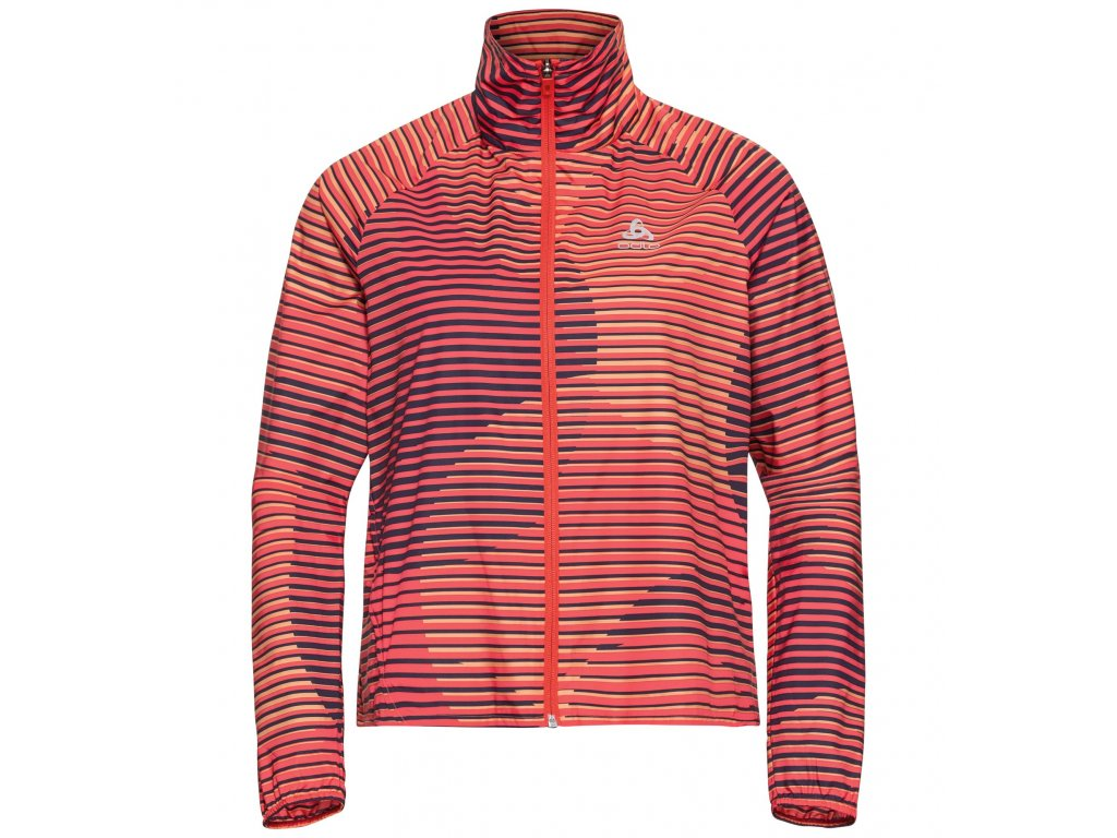 Jacket ZEROWEIGHT  hot coral - AOP SS20