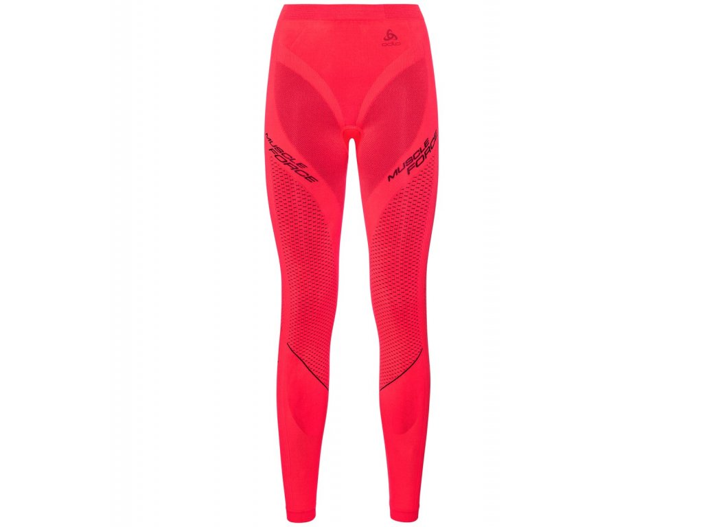 SUW Bottom Tight PERFORMANCE MUSCLE FORCE RUNNING WARM  diva pink - odyssey gray