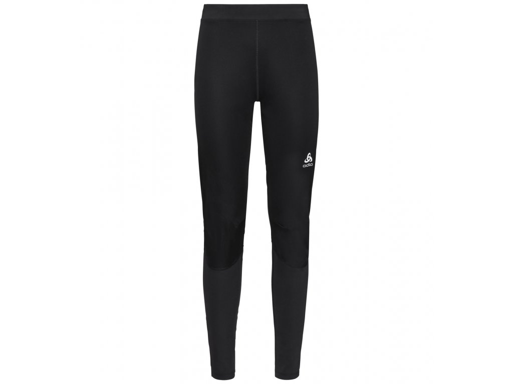 Tights ZEROWEIGHT WINDPROOF WARM  black - reflective print FW19