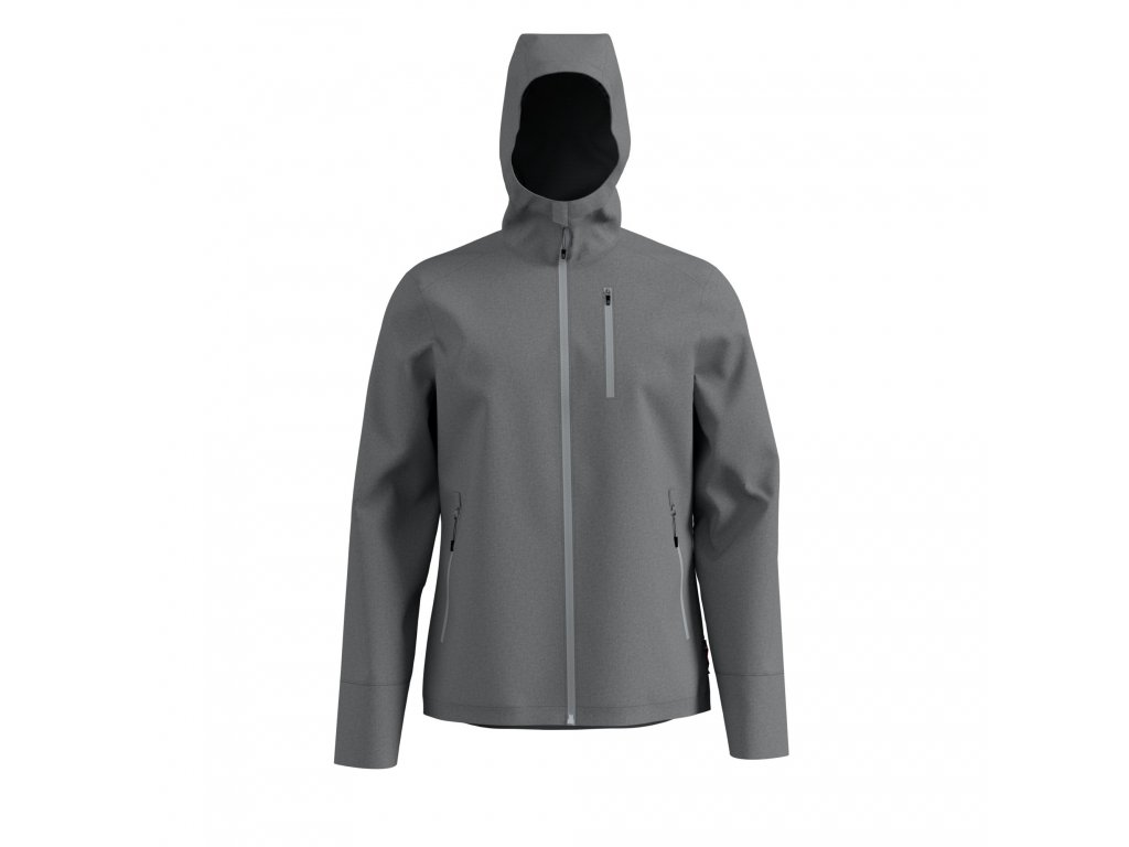 Jacket UNION  odlo concrete grey melange
