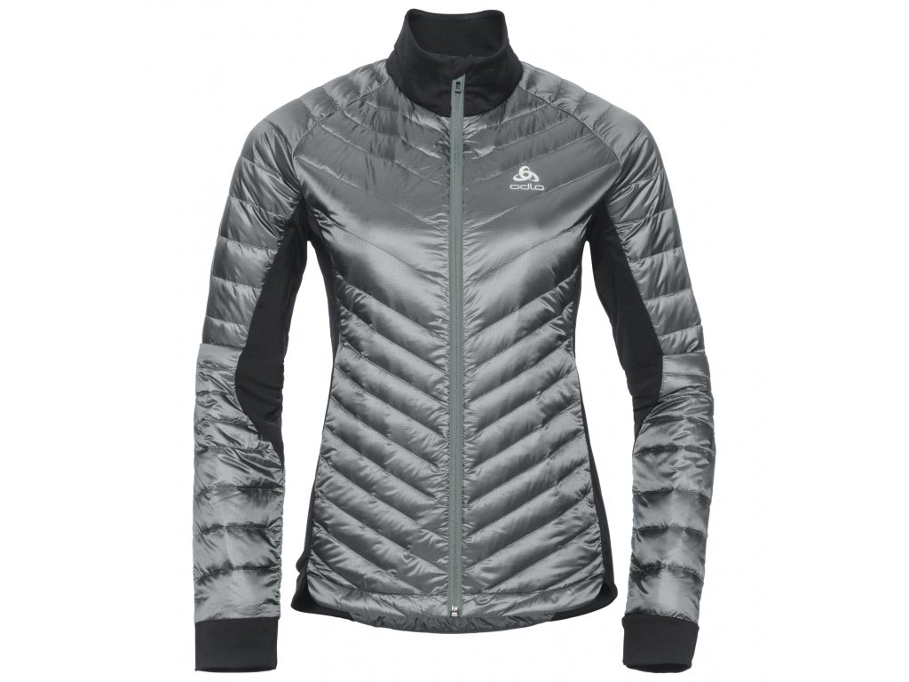 Jacket insulated COCOON N-THERMIC LIGHT  odlo silver grey - black