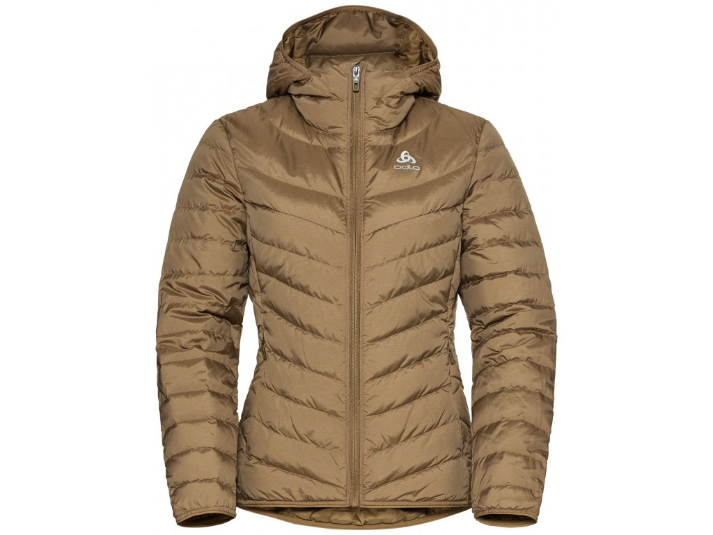 Jacket insulated HOODY COCOON N-THERMIC WARM  dull gold melange
