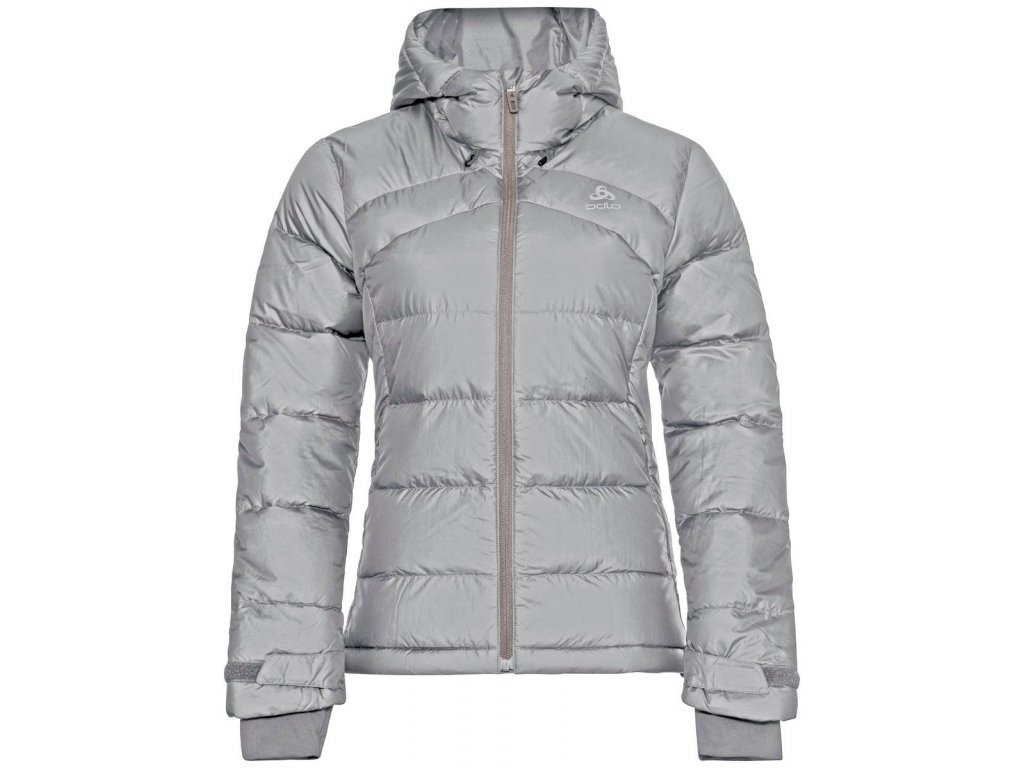 Jacket insulated HOODY COCOON N-THERMIC X-WARM  grey melange