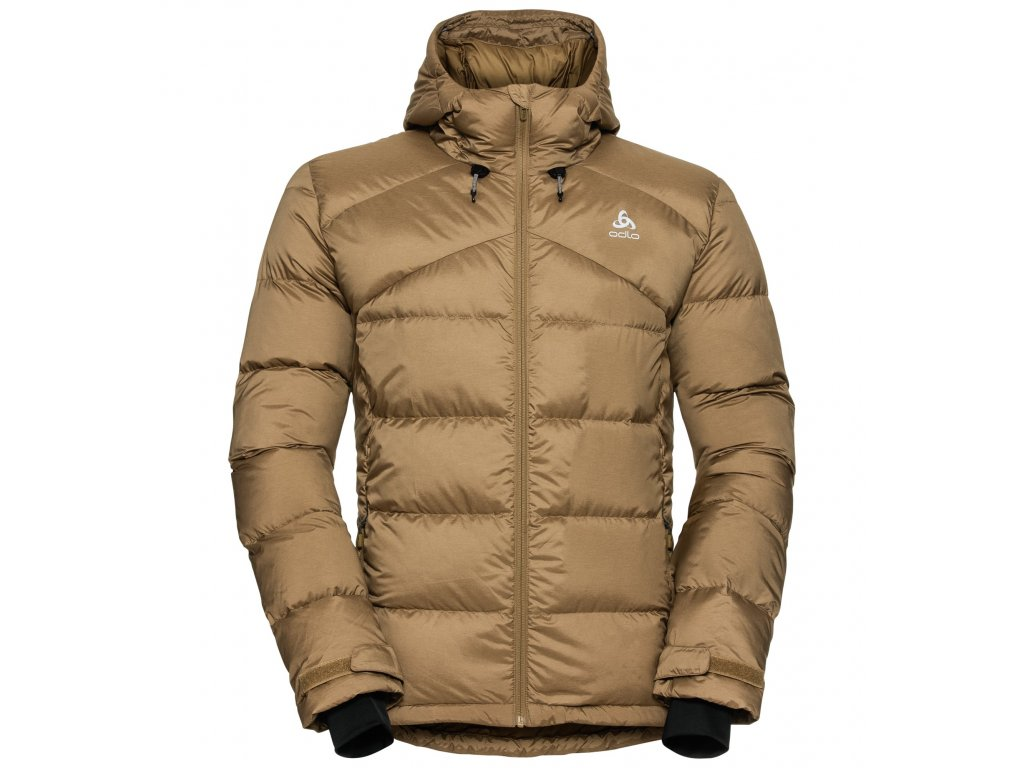 Jacket insulated HOODY COCOON N-THERMIC X-WARM  dull gold melange
