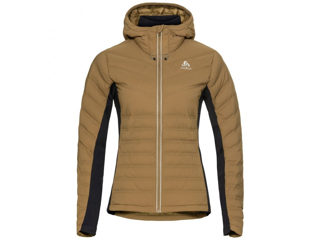 Jacket insulated SARA COCOON  dull gold