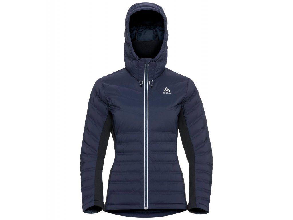 Jacket insulated SARA COCOON  diving navy