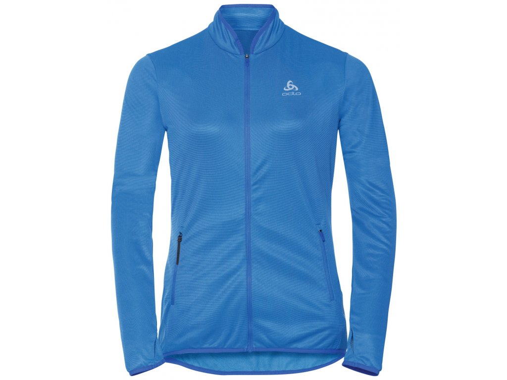 Midlayer full zip FLI CERAMIWARM  amparo blue - marina - stripes