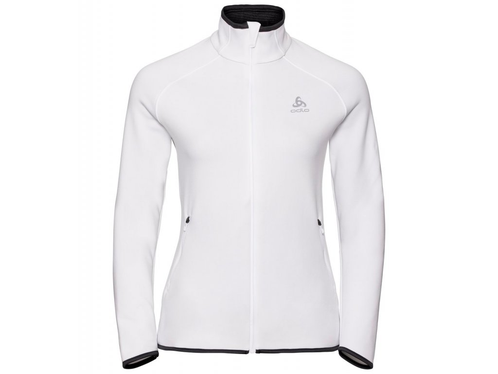 Midlayer full zip CARVE CERAMIWARM  white