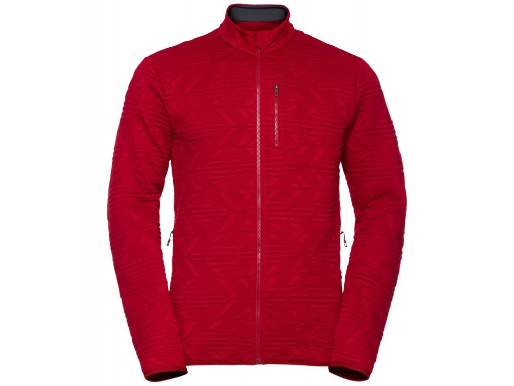 Midlayer full zip CORVIGLIA KINSHIP  rio red
