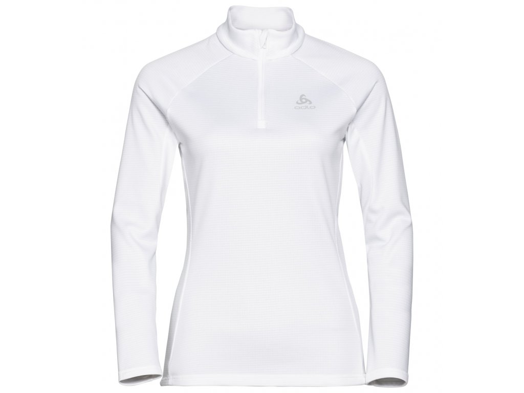Midlayer 1/2 zip PROITA  white melange
