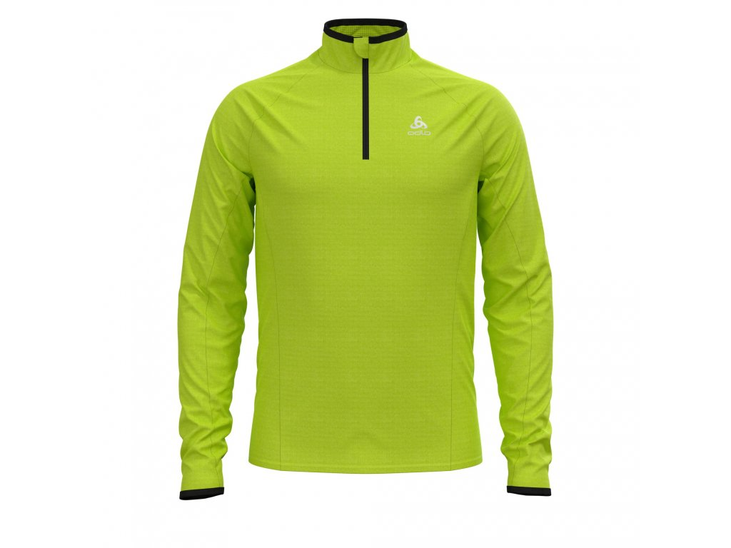 Midlayer 1/2 zip PROITA  acid lime