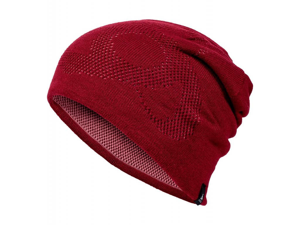Hat GAGE REV WARM  rumba red - mesa rose