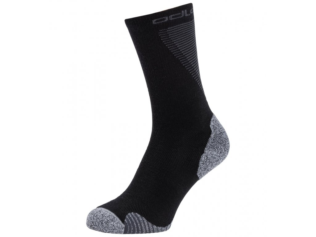 Socks crew ACTIVE WARM RUNNING  black