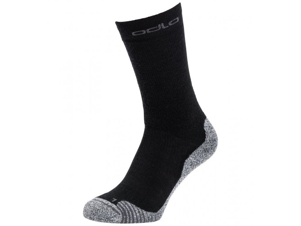 Socks crew ACTIVE WARM HIKING  black