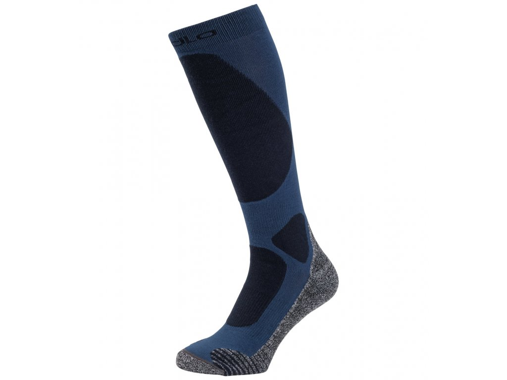 Socks over the calf ACTIVE WARM ELEMENT  estate blue