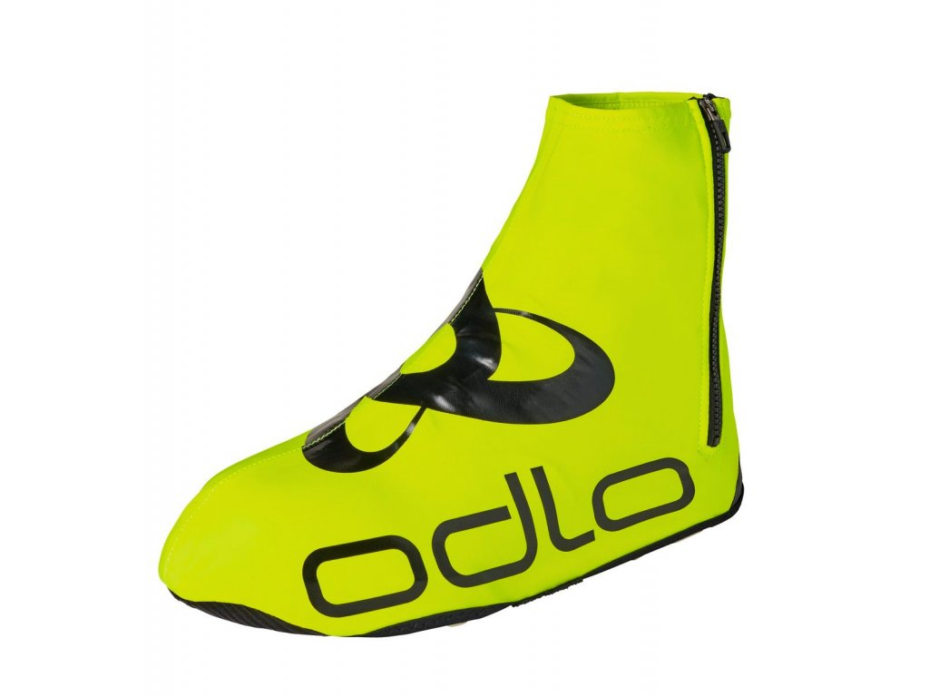 Shoecover ZEROWEIGHT  safety yellow - black