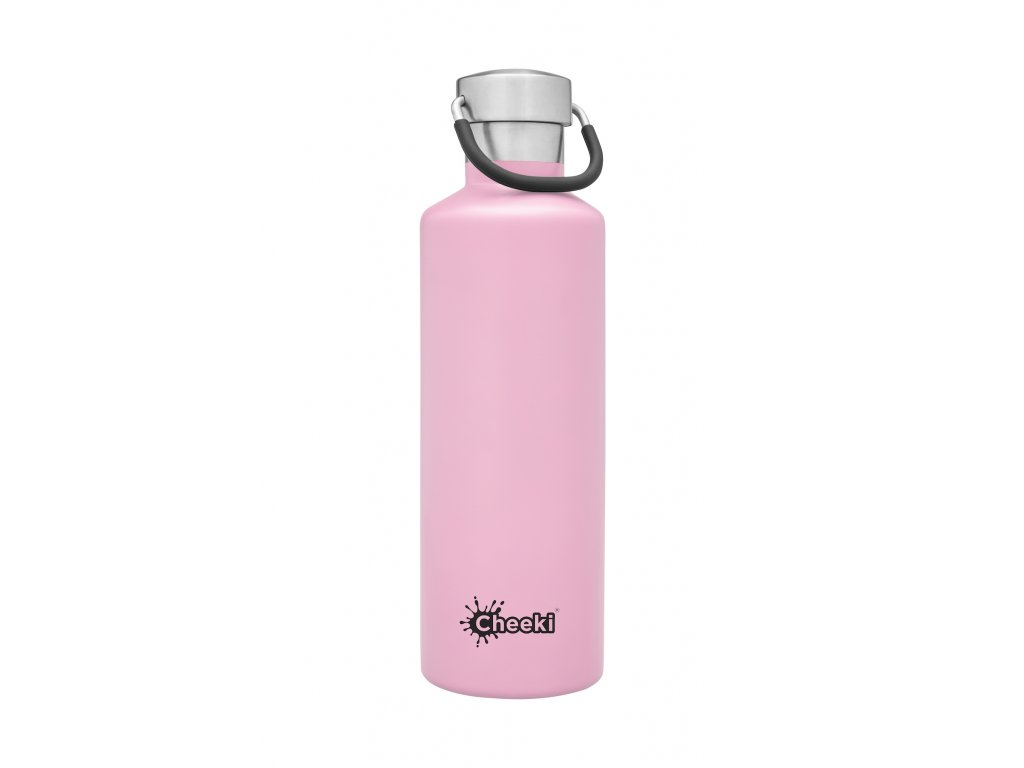 600ml Classic Insulated Bottle - Pink  Pink