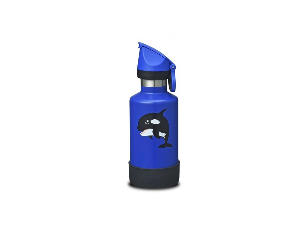 400ml Insulated Kids Bottle - Orca  Orca