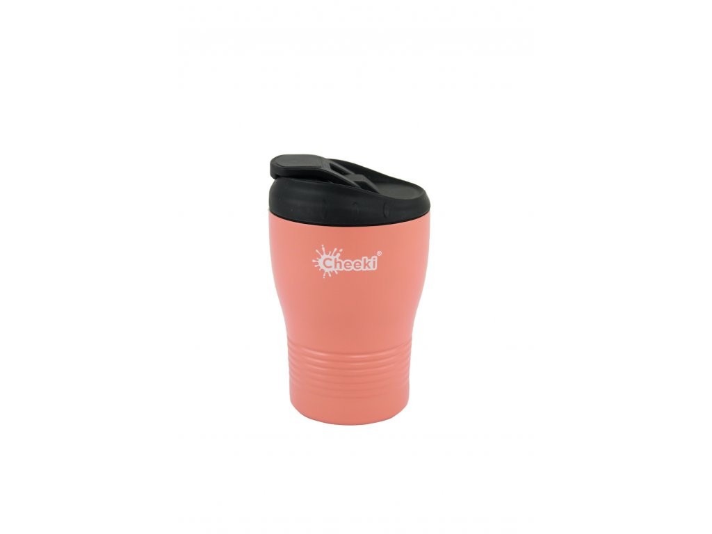 240ml Insulated Coffee Cup - Coral  Coral