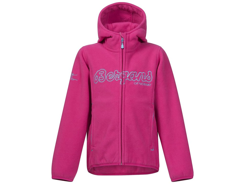 BRYGGEN KIDS JKT  HOT PINK/LOLLIPOP
